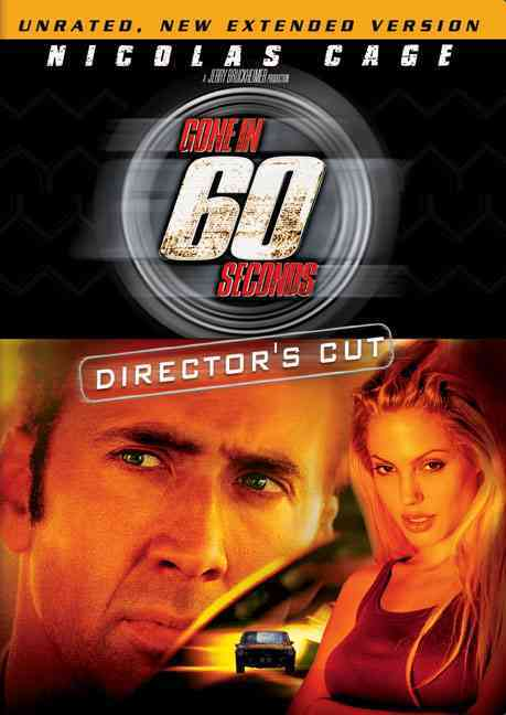GONE IN 60 SECONDS:DIRECTOR'S CUT BY CAGE,NICOLAS (DVD)